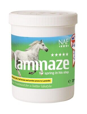 NAF Five Star Laminaze Laminitis Support ALL SIZES Horse/Pony Feed Supplements