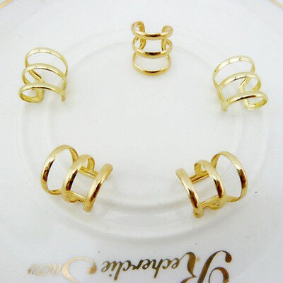 Fashion Jewllery Gold Plated Gothic Punk Style Finger Ring For Women 1PCS