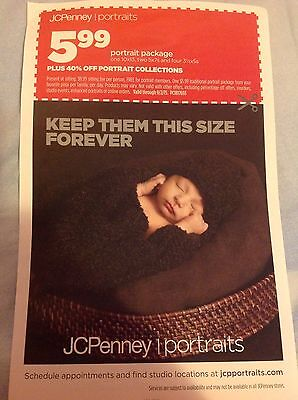JCP Jcpenney Portraits 3.99 sheets or 40% off Portrait Purchase Exp 9/2/15