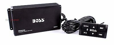 NEW BOSS AUDIO MC900B ALL TERRAIN AMPLIFIER SYSTEM BLUETOOTH ENABLED W/ REMOTE
