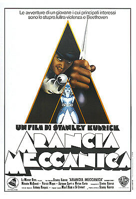 Poster Arancia meccanica Stanley Kubrick