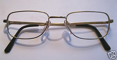 Feine Metall Brillenfassung f. Brille on-line goldfarben Optiker 168 NEU