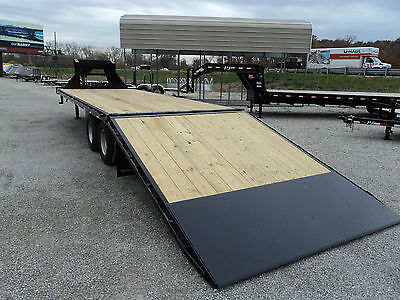 2015 PJ 30' GOOSENECK TRAILER W HYDRAULIC DOVETAIL *ON SALE NOW @ DR TRAILER