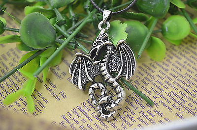 Free shipping HOT 316L Stainless Steel Dragon Pendant Necklace XP0090B