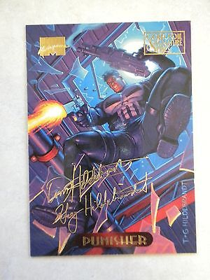 Punisher - #94 - Fleer Gold Foil Signature Series 1994 Marvel Masterpieces 1994