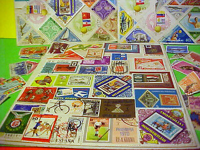 World Sports Stamps lot 100