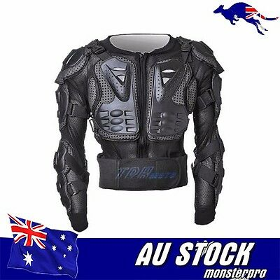 Motocross Motorcycle Dirt Bike Body Armour Jacket Chest Shoulder Quad Protection