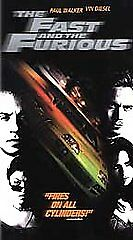 The Fast and the Furious (VHS, 2002) PAUL WALKER, VIN DIESEL