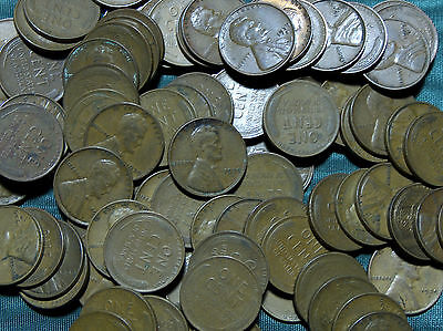 One (1) 1939-D Lincoln Wheat Cent average circulated penny $2.00 combined S&H