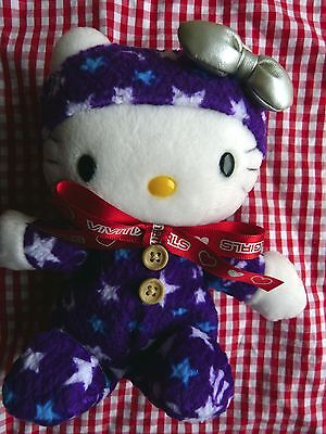NWT Sanrio Hello Kitty in One-Piece with Moon & Star Plush Kawaii Doll VIVITIX