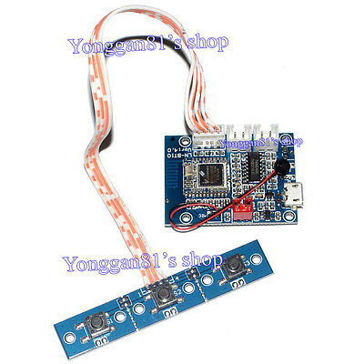 Bluetooth 4.1 Stereo Audio Receiver Module 5W+5W Amplifier Board Hands-free Call