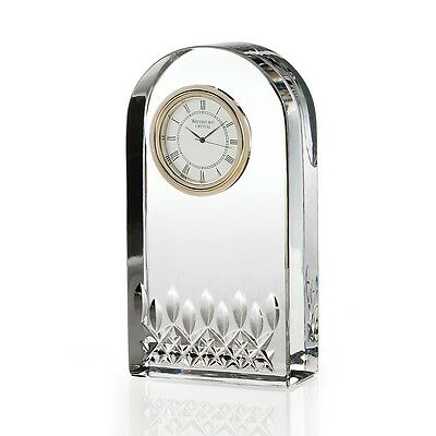 Waterford Crystal Lismore Essence Desk Clock, Timeles Collection Timepiece Gifts