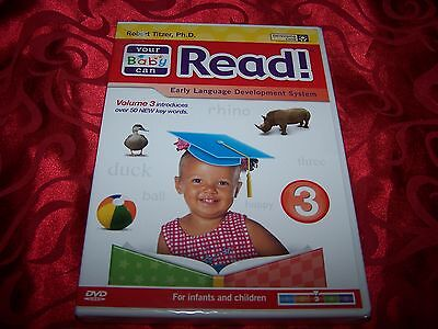 Your Baby Can Read Volume 3 NEW DVD SEALED