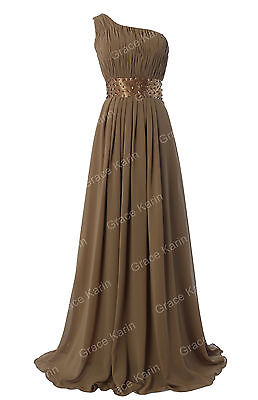 CRAZY SALE New Long Chiffon Formal Evening Prom Party Ball Gown Bridesmaid Dress