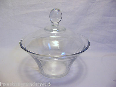 Kig Indonesia covered glass dish bowl