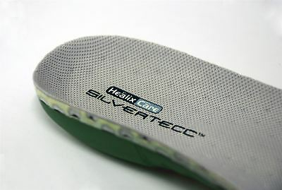 Healix SilverTecc Daily Living Insoles | Lightweight Arch Support Antimicrobial