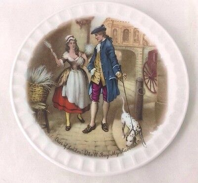 "WEATHERBY HANLEY Royal Falcon Ware ""Cries Of London"" England Decorative Plate"