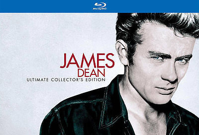 James Dean: Ultimate Collector's Edition (Blu-ray/DVD, 2013, 7-Disc Set) Sealed