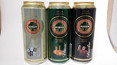 Beer - EICHBAUM PREMIUM BEER SELECTION 500ml x 5 CANS (GERMANY) - 2 TYPES