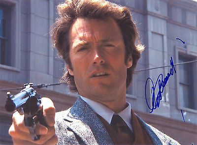 """Clint Eastwood 8x10 Signed Autograph Reprint """"Mint"""" {FREE SHIPPING} 01"""