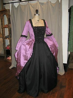 18th Century, Rococo, Marie Antoinette, Steampunk, Goth, Gown, Dress, Costume