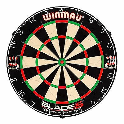 NEW 2017 Professional Level Winmau Blade 5 FIVE Dart Board BEST English quality