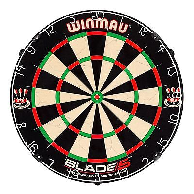 NEW 2018 Professional Level Winmau Blade 5 FIVE Dart Board BEST English quality