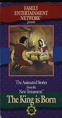The Animated Stories from the New Testament: The King is Born (VHS, 1987)
