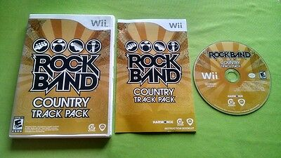 Rock Band: Country Track Pack Complete  For Nintendo Wii & Wii U Compatible