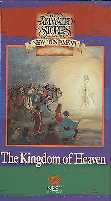 The Animated Stories From The New Testament - The Kingdom of Heaven (VHS, 1991)