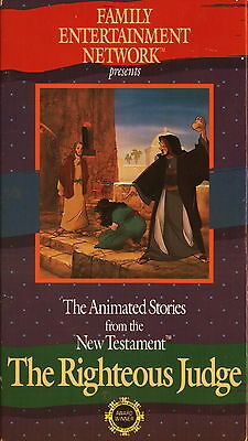 The Righteous Judge - The Animated Stories From the New Testament  (VHS, 1990)