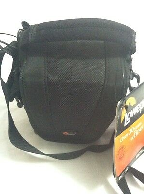 NWT LOWEPRO EDIT100 Black Digital/ Video Bag Pouch Carry Case With Belt Strap