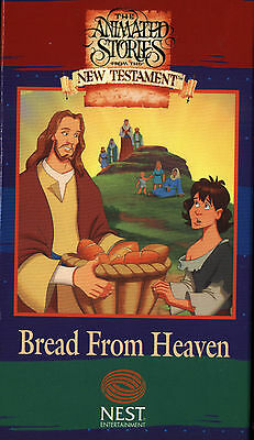 The Animated Stories From The New Testament - Bread From Heaven (VHS, 1996)