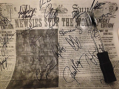 Disney's Newsies 1st National Tour – Signed Onstage Prop and Set of Spoons!