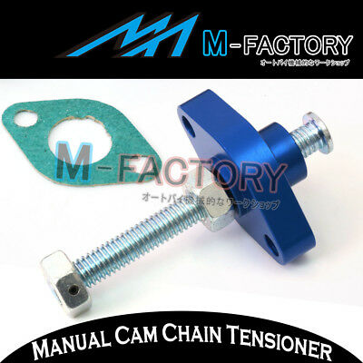 For Suzuki DRZ 400 E/S/SM 00-06 07 08 09 Blue Manual Cam Timing Chain Tensioner