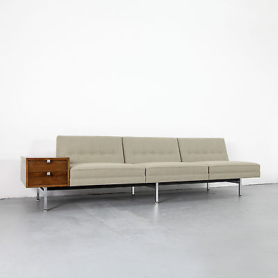 Mid Century Modern Three Seater by George Nelson - Herman Miller 60s | Sofa 60er