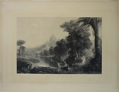 The Voyage Of Life - Youth - James Smillie (1807-1885) Kupferstich - Naturalist