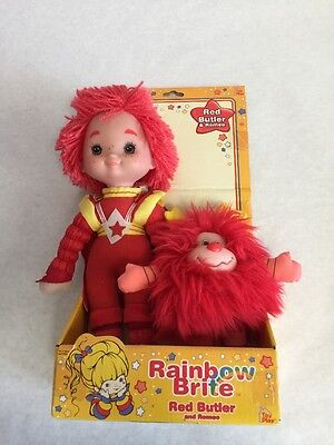 New Rainbow Brite Red Butler And Romeo 2003 Toy Play Dolls 3+