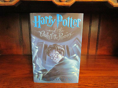 Harry Potter and the Order of the Phoenix 5 by J. K. Rowling (2003, Hardcover)