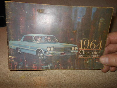 VINTAGE CHEVY  1964 OWNERS GUIDE
