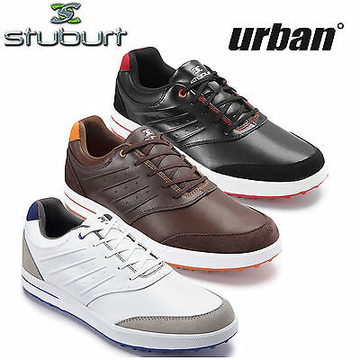 Stuburt Urban Control Spikeless Golf Street Shoes Mens *new* 2015