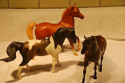 Lot of (3) Vintage Old Breyer Classic Horses