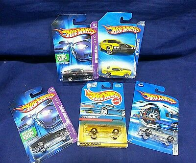 Hot Wheels Chevelle Lot of 5 FREE SHIPPING!