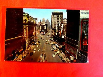 New York Vintage Postcard CR NYC Times Square