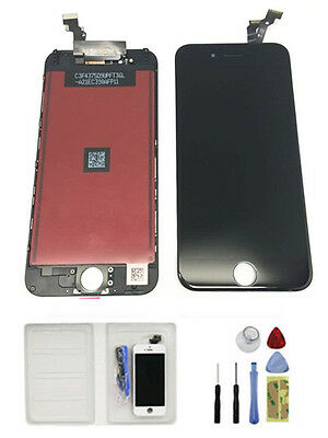 Black OEM Screen Digitizer LCD Display Replacement Assembly+Tools iPhone 6 4.7""
