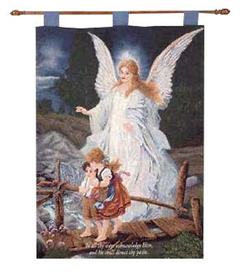 """Child's Room Angel - Christian Inspirational Wall Hanging, """"Direct Thy Paths"""""""