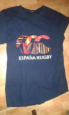 ESPAÑA SPAIN Very Rare M 8/10 RUGBY Camiseta Shirt