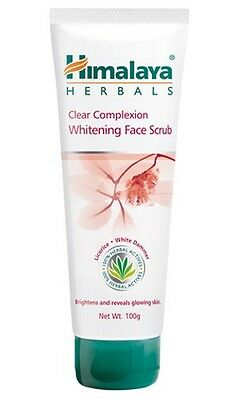 Himalaya Clear Complexion Whitening Face Scrub   Genuine Himalaya Herbal Product