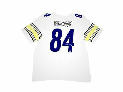 3a643b9ca ANTONIO BROWN PITTSBURGH Steelers Home 1934 Throwback Signed Jersey ...