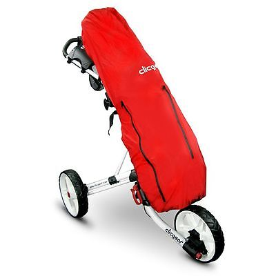 NEW CLICGEAR GOLF BAG RAIN COVER - Red